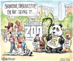 Political Cartoons: Sequester, shmequester! - 7 of 13 - POLITICO.com