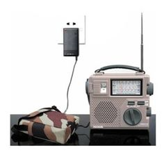 TECH-SMART TECSUN GREEN-88 Hand Cranking Radio FM/AM/SW1/SW2, Rechargeable Battary, Shortwave Radio World Band Receiver D116 by TECSUN. $39.99. Product Specifications: 100% Brand new and high quality FM : 87.0 - 108.0 MHz AM : 525 - 1710 KHz SW : 3.2 - 21.85 MHz Sensitivity: MW < 1mV/m; SW < 50¦ÌV DC Adapter Jack Earphone Jack Built-in telescopic antenna (FM/SW), internal ferrite bar antenna (AM) Unit Size: 168 x 148 x 54 mm (L x H x D) Weight: 511g Features: High...