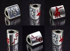 #DST102 Delta Sigma Theta Triangle Bead Compatible with any #Pandora or #Chamilia bracelet... http://www.trendsettersdelaware.com/product_details.cfm?ID=411&mobile=1