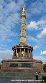 Siegessäule, Columna de la victoria, Berlín, Alemania  (Photo - Date: 15-08-2016   /  Time: 18:14:24)