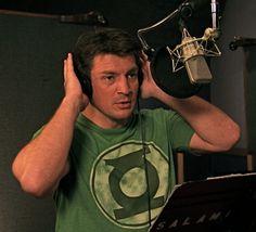 Nathan Fillion/Hal Jordan!