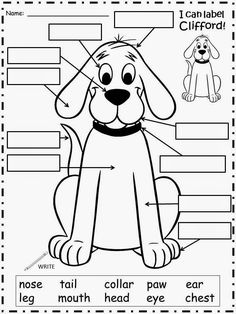 clifford preschool coloring pages - photo#14