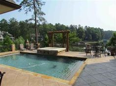 #Pool #view 1011 LITTLE BITS LANE, Greensboro, GA Luxury Real Estate Property - MLS# 29861 - Coldwell Banker Previews International