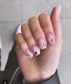 Trending Summer Nail Designs For Short Nails - Nails - Nageldesign Acrylic Nails Natural, Summer Acrylic Nails, Best Acrylic Nails, Acrylic Nail Designs, Natural Nails, Nail Art Designs, Summer Nails, Gel Manicure Designs, Nails Design