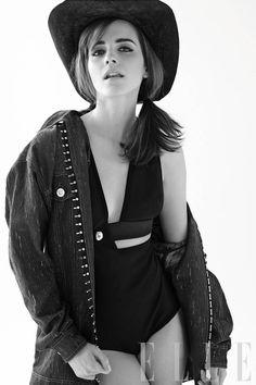 Emma Watson April 2014 Cover - Emma Watson Fashion Shoot - ELLE