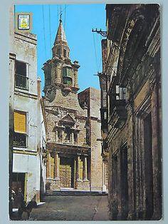 POSTAL-Nª1136-CADIZ-CALLE TIPICA Y CONVENTO DE SANTA MARIA  #180