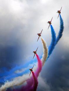 Air France, Ian Ward, Avion Jet, Photo Avion, Raf Red Arrows, F22 Raptor, V Max, Blue Angels, Foto Art