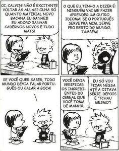 Calvin revoltado! Frases Humor, Calvin And Hobbes, Pixie, Anime, Cartoon, Comics, Funny, Photos, Eighth Grade