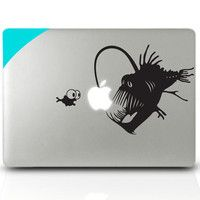 Macbook sticker Light fish Mac Book Mac Book Air Mac Book Pro Mac Sticker Mac Decal Apple Decal Mac Decals from CreativeHow on Etsy. Saved to Things I. Mac Stickers, Macbook Decal Stickers, Mac Decals, Apple Stickers, Laptop Decal, Keyboard Sticker, Apple Logo, Wall Computer, Computer Laptop