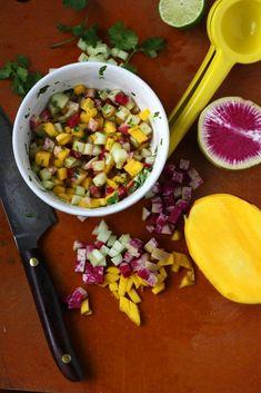 ... meal more watermelon radish recipe mango watermelon radish cucumber