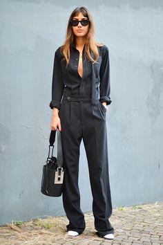 Milan Fashion Week Street Style | Harper's Bazaar
