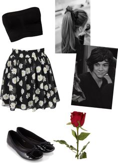"""""""Date with Harry Styles"""" by jessicatomlinson7 ❤ liked on Polyvore"""