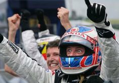 Jenson #Button's first victory in #F1 Hungarian GP 2006 #Honda