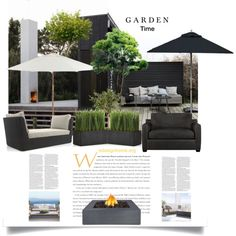 It's Garden Time! by efashiondiva7 on Polyvore featuring polyvore, interior, interiors, interior design, home, home decor, interior decorating, Crate and Barrel, Restoration Hardware and Distinctive Designs