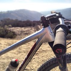 "#TGIF Photo courtesy of #RedMonkey FB Repost ""Life behind bars, conjugal visit. Air9 Carbon you are so damn sexy!"" #redmonkeysports #niner #pedaldamnit #bikelove #lovemybike ~~~ #torcanoindustries #california #socal #bikegear #ride #mtb #trails #grips #thebest #madeintheusa #oc Dealers contact TorcanoIndustries.COM"