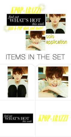 """""""KPOP-ARAZZI Application"""" by officialeojin ❤ liked on Polyvore featuring art"""