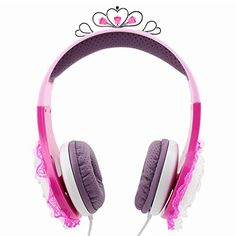 My daughter likes to listen to music and story.  I bought this princess kids headphone for her.   lovely,cute, my girl loves it so much. The sound not loud , not hurt her ear.  Now 50% discount.