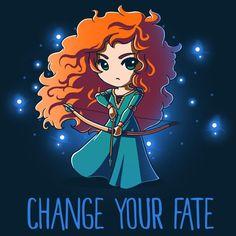 Change Your Fate T-Shirt Disney TeeTurtle