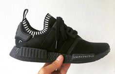 "adidas Black Boost NMD Runner ""Triple Black"" — It's all Chicago"