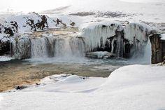 Goðafoss Waterfall, Iceland. Photo by Kara Segedin