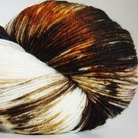 75% Superwash Merino/ 25% Nylon  463 yds / 100 grams    The fiber nylon content makes this yarn sturdy for   socks, yet it's still soft enough for garments and   accessories like shawls.    $19.00