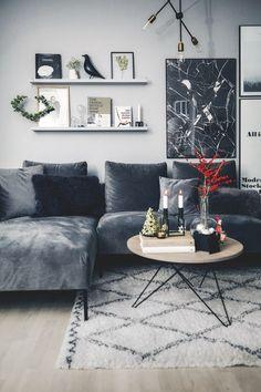 scandinavian interiors, tips decor, scandinavian living, scandinavian home Living Room Inspiration, Home Decor Inspiration, Decor Ideas, Room Ideas, Decor Room, Diy Home Decor, Home Living Room, Living Room Decor, Dining Room