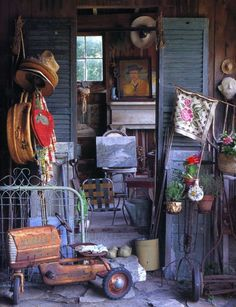 """Mary Randolph Carter>  """"Clutter is the poetry of our homes.  It is a fingerprint of an experience, a souvenir of our childhoods, an expression of our humor, a collection of things that we just can't live without… Embrace it, make peace with it, take control of it, share it, reorganize it, and when the time seems right, bid it farewell."""" (p. 51)"""