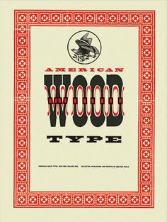 1964 / American Wood Types, 1828–1900, Volume One. Limited edition folio.