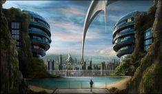Futuristic Architecture. Más sobre ciudades sostenibles en www.solerplanet.com