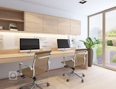 Guest Room Office, Home Office Setup, Home Office Space, Home Office Desks, Office Ideas, Home Office Furniture Design, Office Interior Design, Office Interiors, Exterior Design