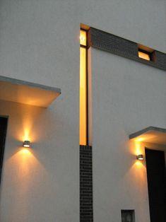 O casa in Vatra Luminoasa – O casa pe zi Modernism, Wall Lights, Lighting, Home Decor, Modern Architecture, Appliques, Decoration Home, Room Decor, Lights