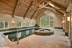 Rain or shine, it's always a pool day at this Palos Park, IL home!
