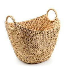 Hyacinth Scoop BasketSku: 106245  $29.99