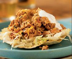 Delicious Chili Tostadas - Ideal Protein Diet - Phase 1 Compatible