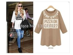$21.33 Girls Comfort Casual 3/4 Sleeve O-neck T-shirt