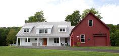Morgan Farmhouse Style Home Plans - Yankee Barn Homes