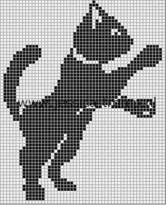 borduren poes kruissteekpatronen cats cross stitch charts simple cat cross stitch but would be cute on a child's shirt with the paw appearing to be reaching for a button or something in a pocket. Cat Cross Stitches, Cross Stitch Charts, Cross Stitch Designs, Cross Stitching, Cross Stitch Patterns, Crochet Patterns, Crochet Elephant Pattern, Beaded Cross Stitch, Cross Stitch Embroidery