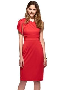 893137a0123 Buy Plain Ruffled Asym Women s Pencil Dress Plus Size at Plus One Boutique  for only  40.00