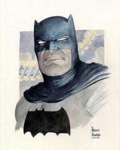 Happy #Batman Day, you old fart. #watercolor via Instagram http://ift.tt/2d2g30A