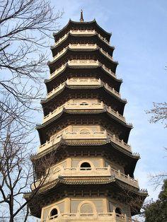 Linggu Pagoda (灵谷塔), Purple Mountain (紫金山) Nanjing, Jiangsu, China