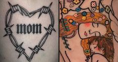 Mother's Day may have passed, but we're still reliving it with these mom tattoos! Want to show how deep is ur love? A cool tattoo will do. Mothers Day May, Greeting Card Companies, Brenda, Bad Mom, Tattoo Now, Weird Gifts, Mom Tattoos, Love Mom, Friends Mom