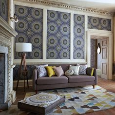 The collection is typical of the Harlequin style: displaying an 'ad hoc' chic, it harnesses a riot of pattern, colour and printing techniques to create a gloriously vibrant, yet subtly harmonious, whole.