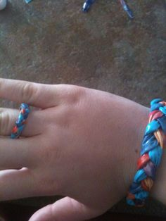 How to Make a Duct Tape Braided Bracelet