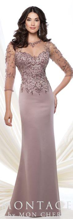 Montage by Mon Cheri Spring 2015 - Style No. 115973  montagebymoncheri.com   #eveningdresses #motherofthebridedresses