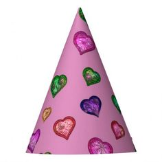 Make each celebration unique with Cute party supplies from Zazzle. Customize it with signs to favors to create an unforgettable party! Heart Party, Party Hats, Party Supplies, Favors, Hearts, Humor, Create, How To Make, Presents