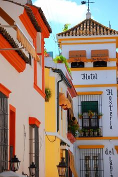 Travel Inspiration for Spain - Hosteria del Laurel where we stayed in Seville, Andalusia