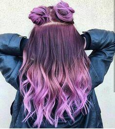 33 Cutest Fabo Hairstyles Trends And Ideas Inspirations 33 süßeste Fabo Frisuren Trend Cute Hair Colors, Pretty Hair Color, Beautiful Hair Color, Hair Dye Colors, Dye My Hair, New Hair, Aesthetic Hair, Purple Hair, Purple Ombre