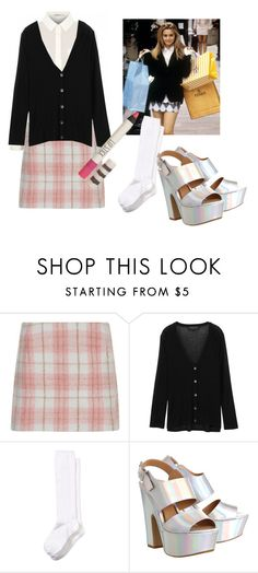 """""""Clueless"""" by fleetwood ❤ liked on Polyvore featuring Cameo Rose, rag & bone, Nordstrom, Office, 90s, clueless and cherhorowitz"""