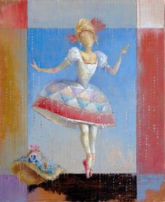 "Painting, ""Art of Grace"" Grace Art, Cabaret, Painting Art, Theatre, Saatchi Art, Disney Characters, Fictional Characters, Anna, Disney Princess"
