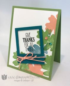 Stampin up stamping pretty for all things autumn fall holiday catalog demonstrator blog